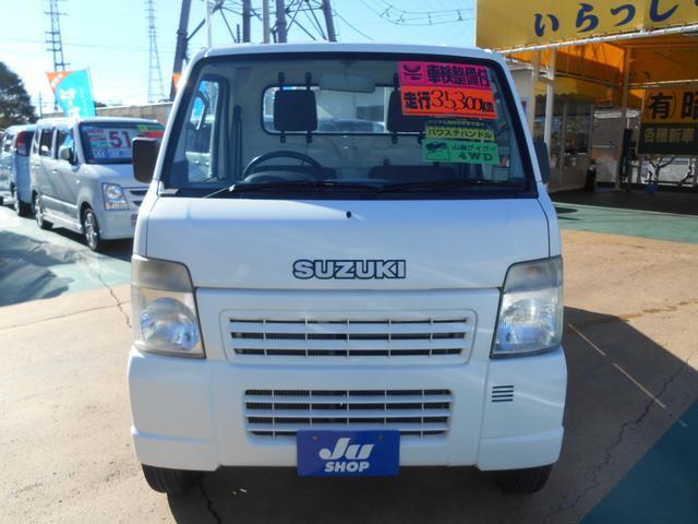 スズキ キャリイトラック KU 4WD エアコン パワステ 5MT