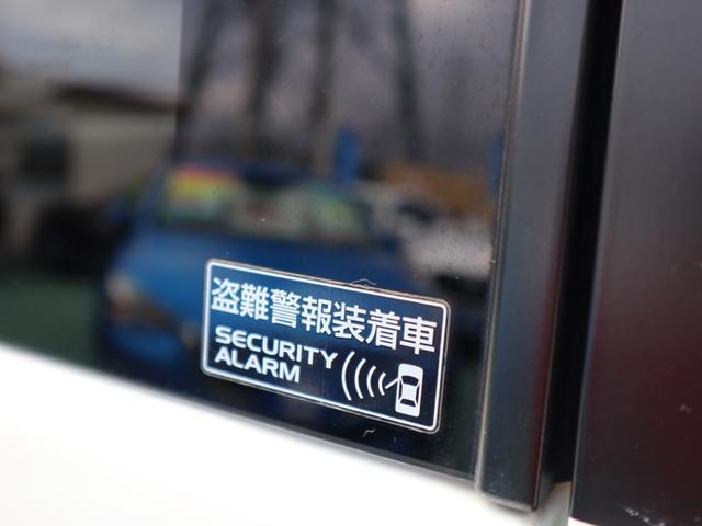 盗難警報装着車です♪もしもの時に威力を発揮します♪