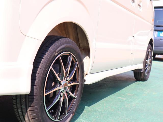 タイヤ&アルミは新品に交換済み☆ ご購入後すぐに買い替えの必要もなく、無駄な出費や時間を削減することができます♪