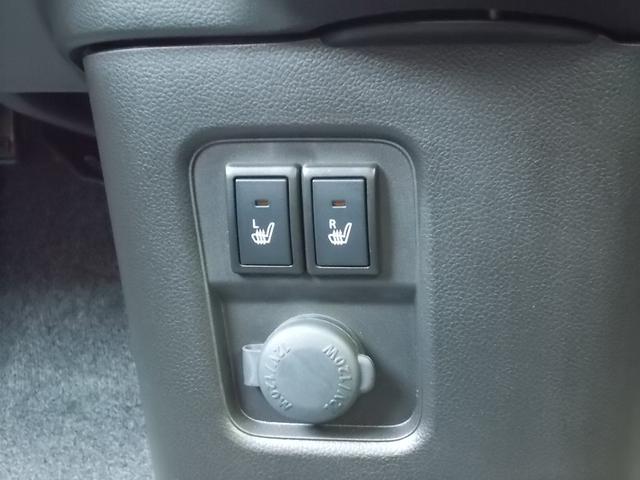 運転席・助手席の両方にシートヒーターを装備☆