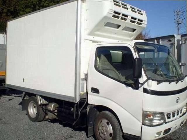 トヨタ トヨエース 冷凍冷蔵車 二室 4WD
