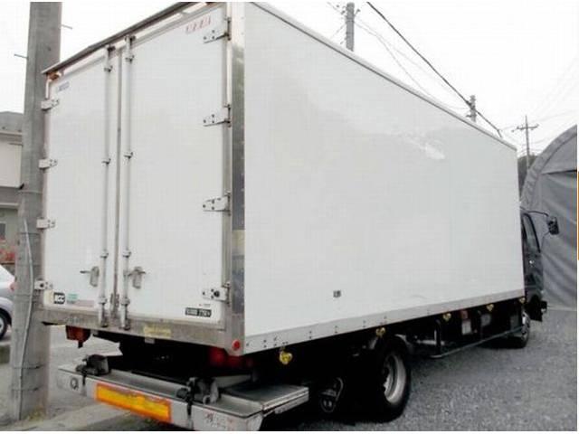 三菱ふそう ファイター 冷凍車 ワイド ロング 格納パワーゲート