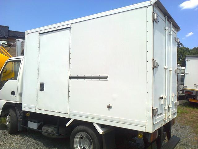 いすゞ エルフトラック 4WD 四駆 冷凍車 冷凍冷蔵車 冷蔵車 中温 トープレ