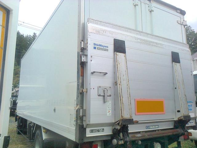 4トン 冷凍冷蔵車 冷凍車 スタンバイ パワーゲート 低温(3枚目)