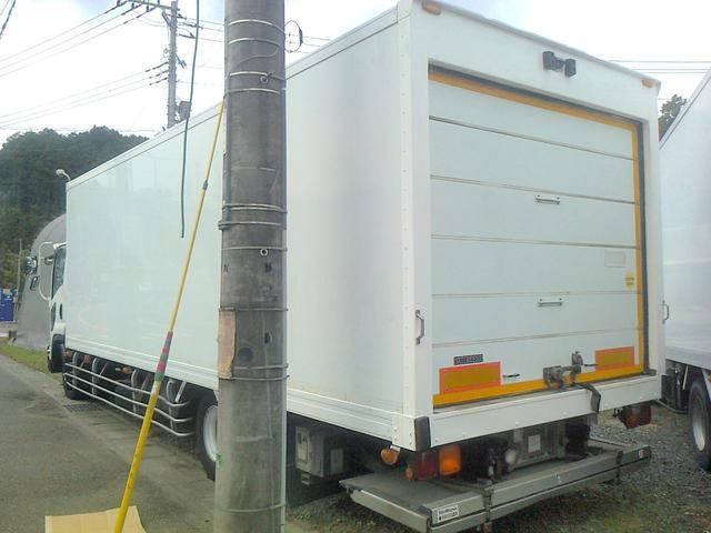 いすゞ フォワード 増トン 冷凍冷蔵車 冷凍車 格納ゲート シャッター 低温