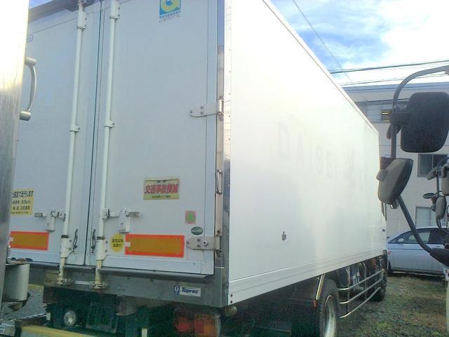 増トン 冷凍車 冷凍冷蔵車 冷蔵車 格納ゲート スタンバイ(4枚目)