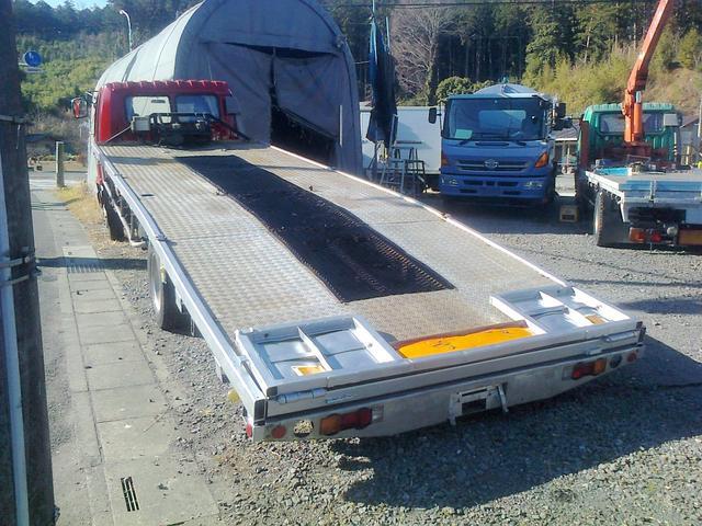 セーフティローダー ローダー 積載車 車両運搬車 回送車(4枚目)