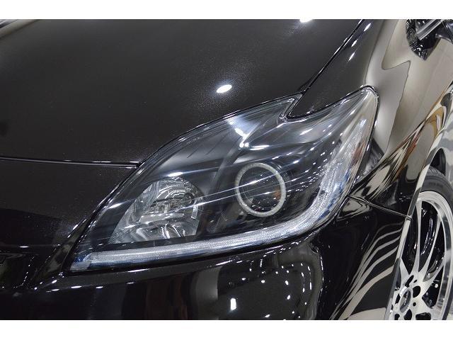 トヨタ プリウス L 新品19AW エアロ ダウンサス イカリング