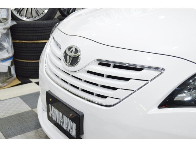トヨタ カムリ G リミテッドエディション 新品19AW エアロ ダウンサス