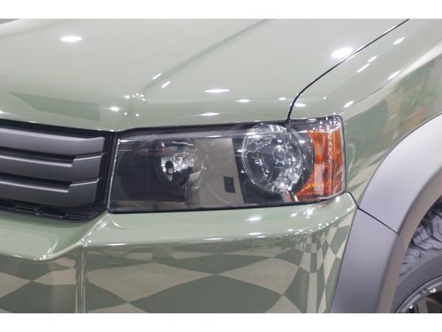 18L 特別延長保証付車 新品16AW リフトアップ グリル・エンブレム艶消しブラック塗装 ホワイトレター入オフロードタイヤ(5枚目)