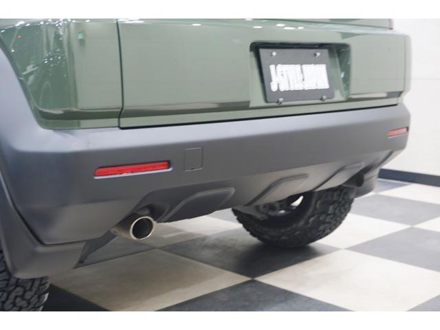 18L 特別延長保証付車 新品16AW リフトアップ グリル・エンブレム艶消しブラック塗装 ホワイトレター入オフロードタイヤ(15枚目)