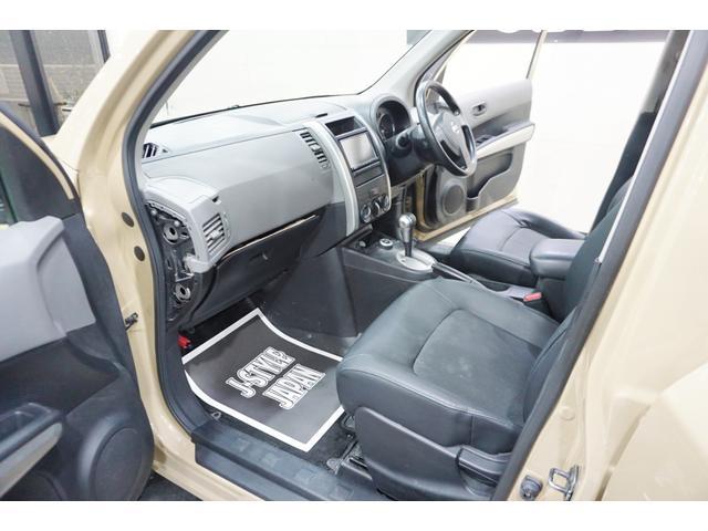 20S 特別延長保証付車 新品16AW 4WD リフトアップ グリル・バイザー艶消しブラック塗装 新品ナビ ホワイトレター入オフロードタイヤ(24枚目)