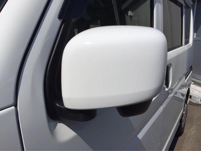 日産 NV100クリッパーバン GXターボ 1オーナー 新品ポータブルナビ ETC 電格ミラ