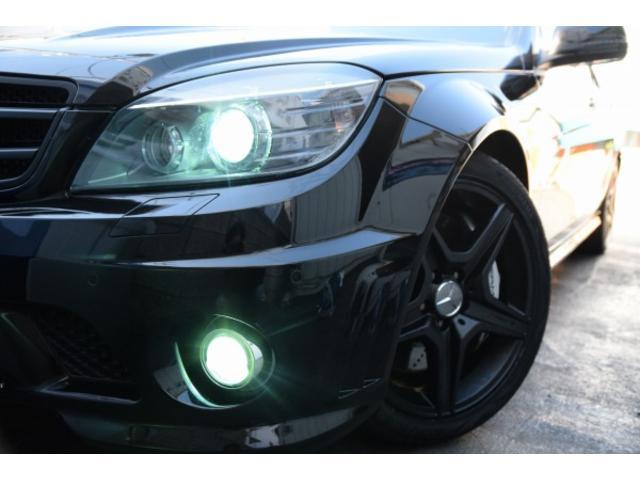 メルセデス・ベンツ M・ベンツ C63 AMG 左ハンドル SR 黒本革 ナビTV Bカメラ