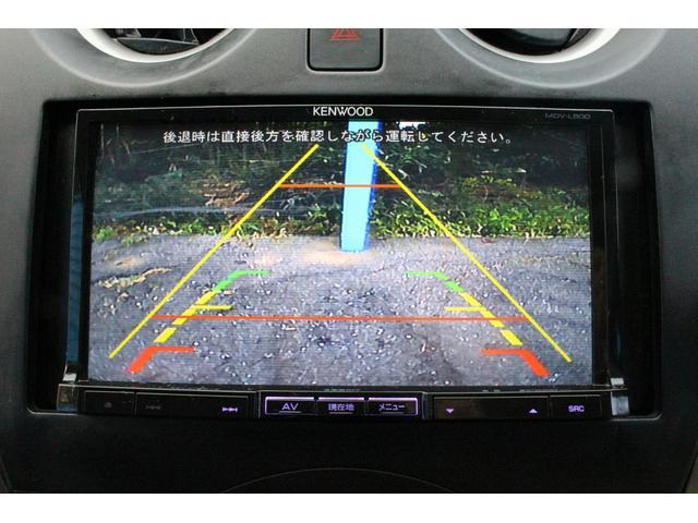 日産 ノート X 地デジ付ナビBカメラLEDライトスマキーETC禁煙車