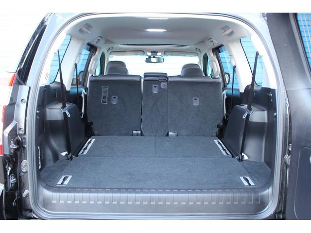 トヨタ ランドクルーザープラド TX Lpkg LEDヘッドライト黒革サンルーフHDDナビ