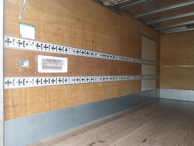 三菱ふそう キャンター 標準ロング アルミバン 全低床 積載3トン リヤシャッター扉