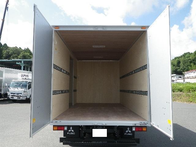 三菱ふそう キャンター ワイド幅ロング 積載3トン 高床 アルミバン 未使用車