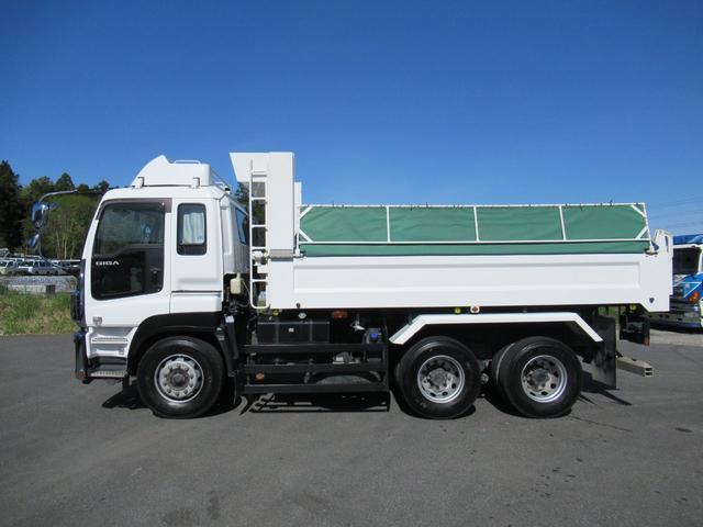 土砂ダンプ 自動シート 積載9.4トン(4枚目)