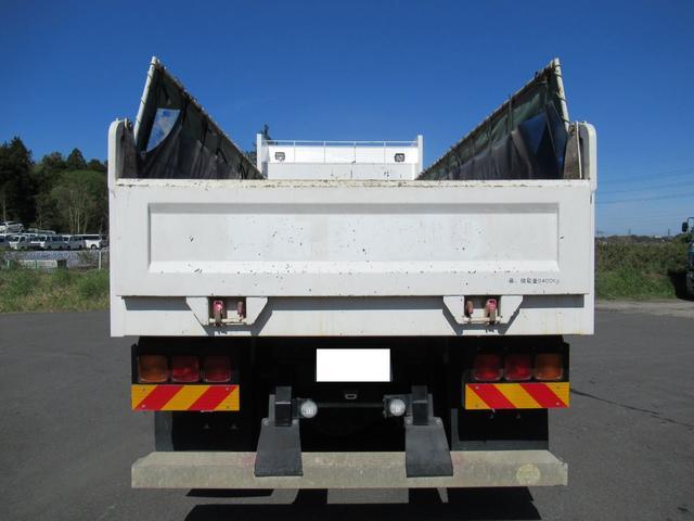 土砂ダンプ 自動シート 積載9.4トン(5枚目)