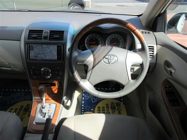 トヨタ カローラアクシオ ラグゼールBカメラHID4WDナビ純正AWシートヒーター
