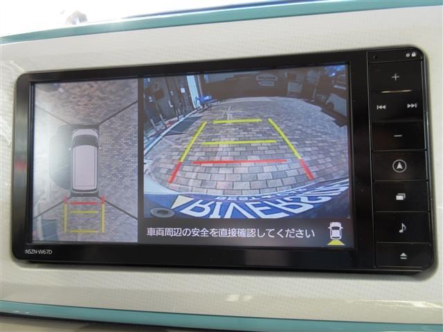 Gメイクアップ SAIII ワンオーナー禁煙車 メモリーナビ 全方位カメラ DVD再生 フルセグ ETC LEDヘッドライト 両側電動スライド スマートキー 誤発進抑制機能 スマートアシスト 車線逸脱警告 オートハイビーム(9枚目)