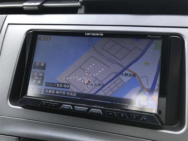 S 社外HDDナビ フルセグTV 後席モニター バックカメラ(7枚目)