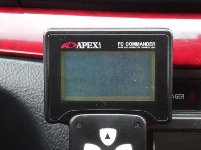 グランデiR-V 純正5速 TOMEIPOWEREDタービンキット APEXパワーFC 車高調 強化クラッチ HPIラジエター インタークーラー オイルクーラー TRDスタビライザー GPSPORTSマフラー(24枚目)