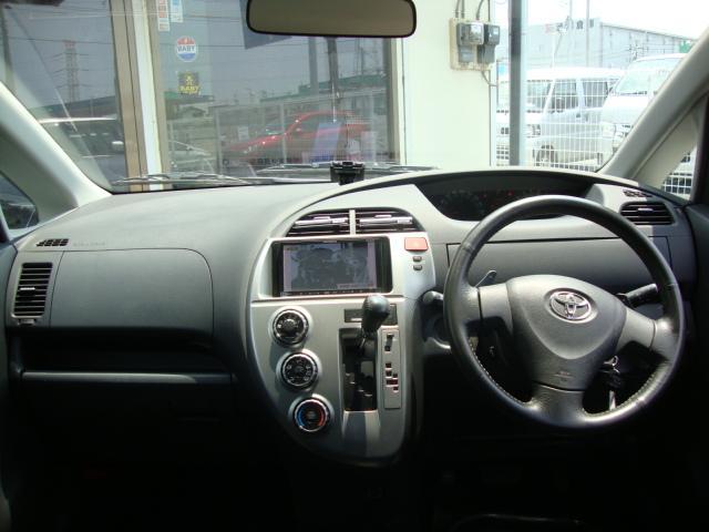 トヨタ ラクティス G ABS ETC メモリーナビ フルセグTV