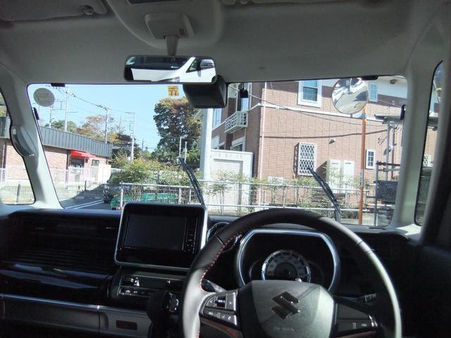 ハイブリッドXS 両側パワースライドドア スズキセーフティーサポート ワンオーナー アイドリングストップ シートヒーター コーナーセンサー パナソニック製ナビ オート格納ミラー バックカメラ スマートキー ETC(13枚目)