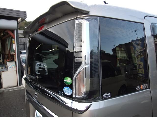ハイブリッドXS 両側パワースライドドア スズキセーフティーサポート ワンオーナー アイドリングストップ シートヒーター コーナーセンサー パナソニック製ナビ オート格納ミラー バックカメラ スマートキー ETC(14枚目)