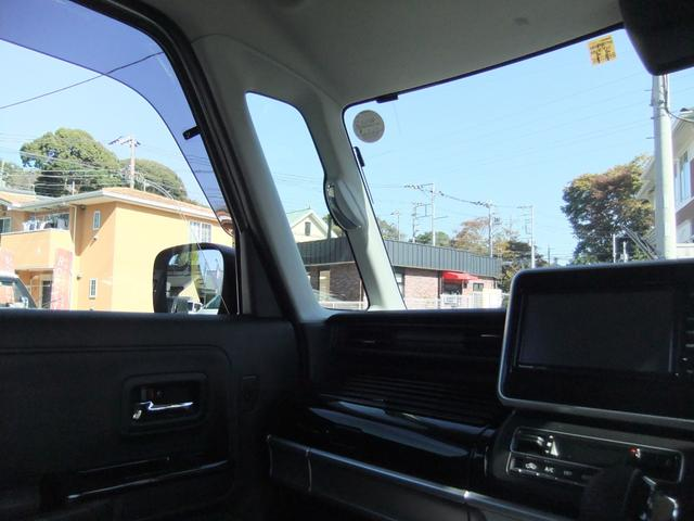 ハイブリッドXS 両側パワースライドドア スズキセーフティーサポート ワンオーナー アイドリングストップ シートヒーター コーナーセンサー パナソニック製ナビ オート格納ミラー バックカメラ スマートキー ETC(48枚目)