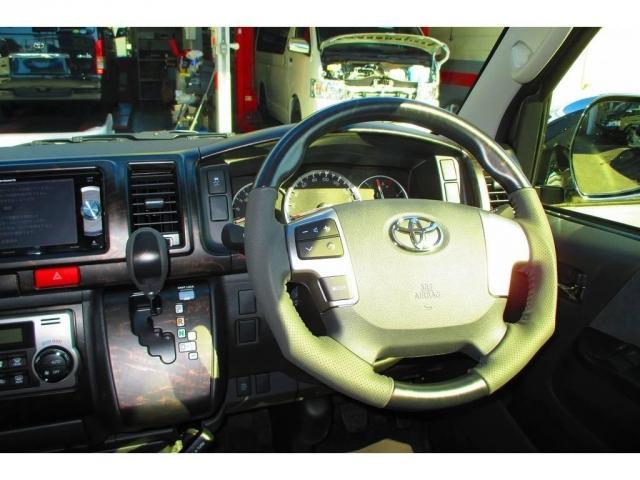 トヨタ ハイエースワゴン GL・Heartsフルエアロ仕様トリプルナビパッケージ車