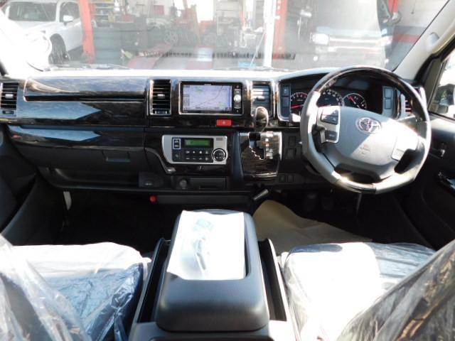 トヨタ ハイエースバン 2.0 スーパーGL ロング カスタムナビパッケージ
