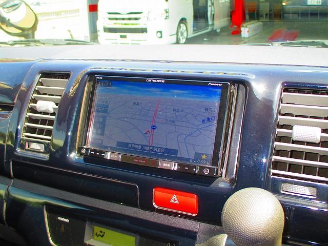 トヨタ ハイエースバン スーパーGL ローダウン フリップダウンモニター ETC