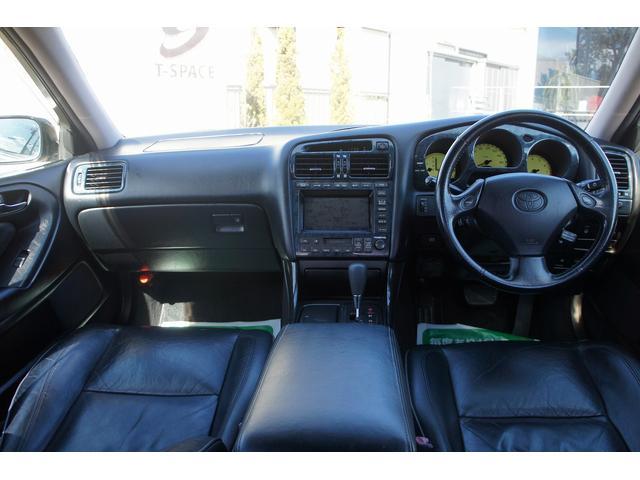 トヨタ アリスト V300ベルテックスED エアロ20AW車高調 黒革 SR