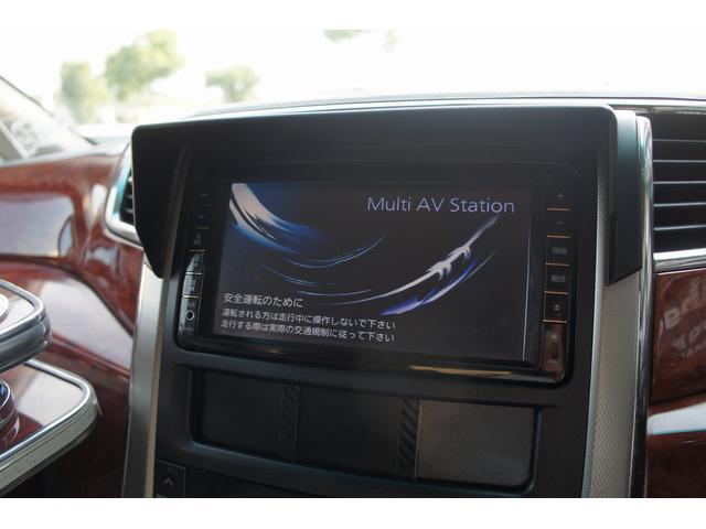 トヨタ ヴェルファイア 2.4Zプラチナ ROWENエアロ20AW車高調 2ナビTV