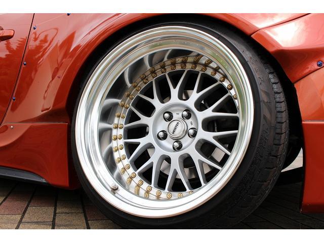 GTリミテッド ワンオーナー車 RocketBunnyワイドボディ TRDエアロ WORK18AW BLITZ車高調 SKIDRACINGアーム チタンマフラー Defi6連メーター Sabeltシートベルト(70枚目)