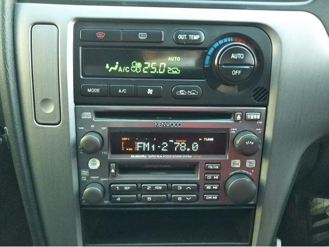 スバル レガシィB4 ブリッツェン 黒革 CD MD ETC キーレス
