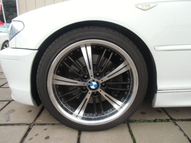 BMW BMW 330Ci Mスポーツ 社外ナビ 18AW ETCローダウン