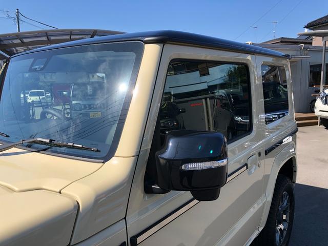XC ダムド リトルG コンプリート 専用アルミ リフトアップ 社外8インチフルセグナビ シートカバー 社外LEDテールランプ セーフティーサポート シートヒーター(25枚目)