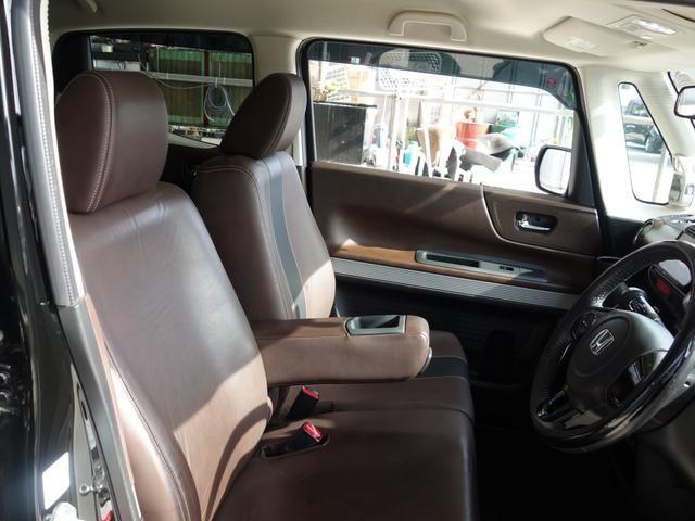 G・Lインテリアカラーパッケージ 社外ナビ TV Bluetooth スマートキー ステアリング&シートヒーター エンジンタイミングチェーン式 ブラウンレザーシート(11枚目)