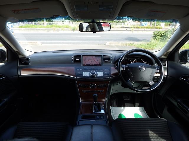 日産 フーガ 350GT ハーフレザー DVDナビ Bカメラ インテリキー