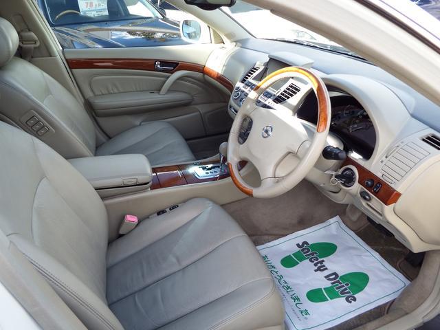 日産 シーマ 450XL サンルーフ 本革 DVDナビ ETC