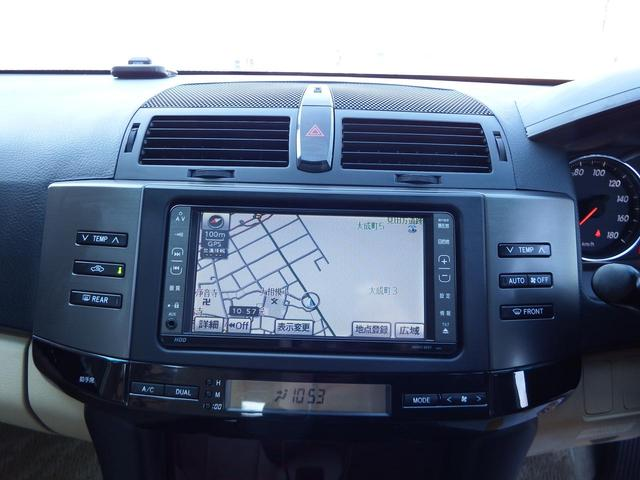 トヨタ マークX 250G HDDナビ HID ETC 2年保証付