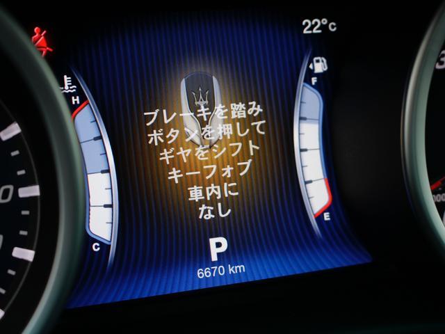マセラティ マセラティ ギブリ S Q4ワンオーナー サンルーフ 19インチAW
