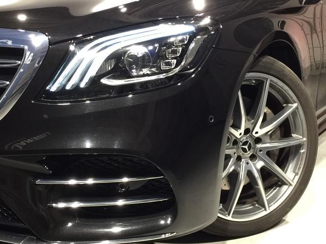 S400d 4マチック AMGライン AMGラインプラス ベーシックPKG レザーエクスクルーシブPKG パノラミックスライディングルーフ 黒革 4MATIC(6枚目)