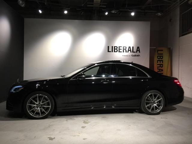S400d 4マチック AMGライン AMGラインプラス ベーシックPKG レザーエクスクルーシブPKG パノラミックスライディングルーフ 黒革 4MATIC(7枚目)