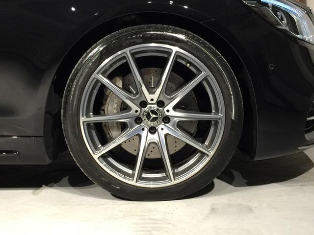 S400d 4マチック AMGライン AMGラインプラス ベーシックPKG レザーエクスクルーシブPKG パノラミックスライディングルーフ 黒革 4MATIC(9枚目)