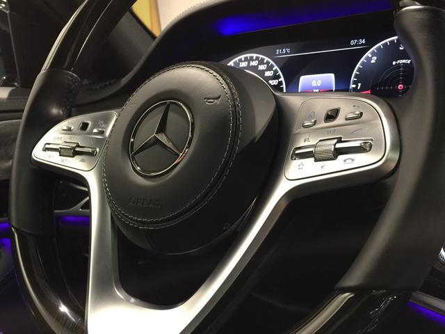 S400d 4マチック AMGライン AMGラインプラス ベーシックPKG レザーエクスクルーシブPKG パノラミックスライディングルーフ 黒革 4MATIC(12枚目)